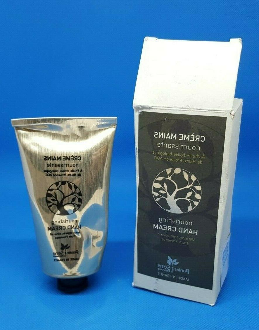 PANIER DES SENS, NOURISHING HAND CREAM W/ ORGANIC OLIVE OIL,