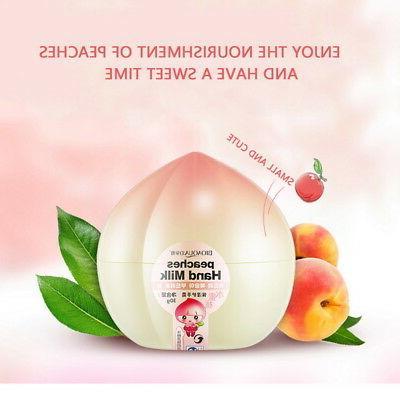 Peach Cream Skin Care Exfoliating