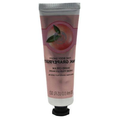 pink grapefruit hand cream 1 oz skincare