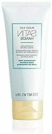 Mary Kay Satin Hands Nourishing Shea Cream FRAGRANCE-FREE HA