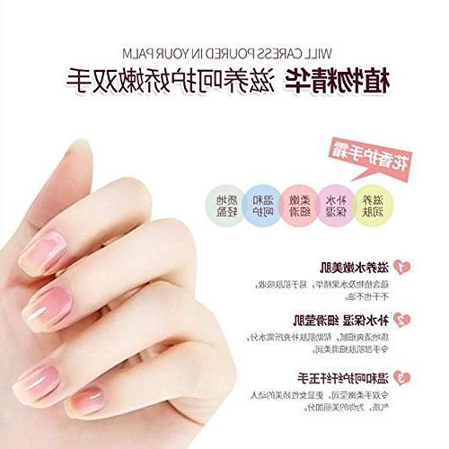 5Pcs/Set Hand Set Cherry Moisturizing Hand Cream Nourishing Chapping Control Hand Care Hand