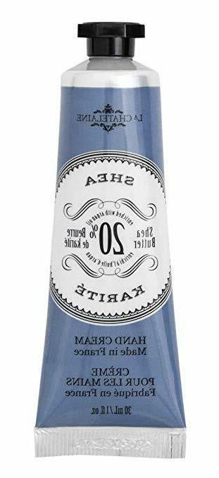 La Chatelaine 20 % Shea Butter Hand Cream with Organic Argan