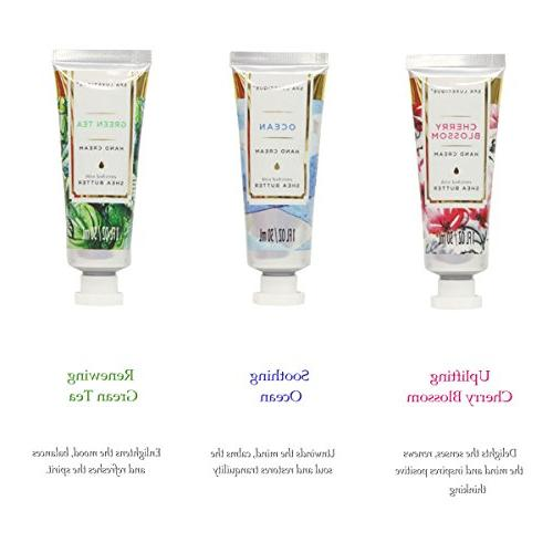 Spa Hand Cream Gift 6 Size Hand Natural and Vitamin E, & Hydrating for Gift Women,