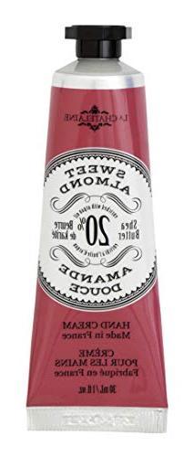 La Chatelaine 20% Shea Butter Sweet Almond Hand Cream Travel