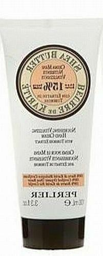 Perlier Shea Butter Hand Cream with Tuberose Extract 3.3 fl