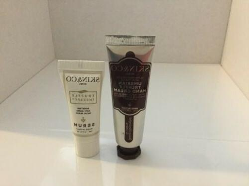 SKIN & CO Truffle Therapy Anti Aging Facial Serum & Hand Cre