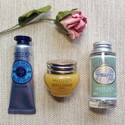 L'OCCITANE 3-pc TRAVEL SET Dry Skin Hand Cream, Divine Cream