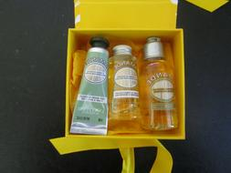 L'OCCITANE Almond Amande Shower Oil, Skin Oil, & Hand Cream