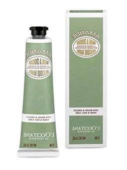 L'OCCITANE ALMOND DELICIOUS HANDS HAND & NAIL CREAM 2.6 OZ.