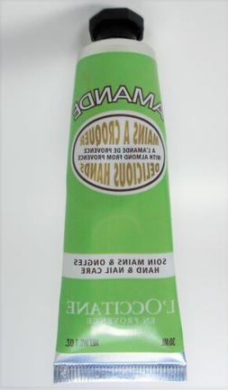 L'Occitane Almond Delicious Hands & Nails Care Cream 1oz / 3