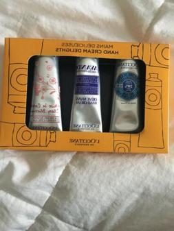 L'Occitane En Provence Hand Cream Delights 3 Lotions - cherr