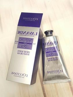 L'Occitane Lavender Hand Cream 75ml/2.6oz Lotion New in box