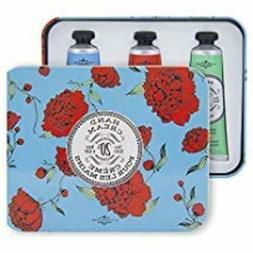La Chatelaine 20% Shea Butter Hand Cream Tin Gift Set, Popul