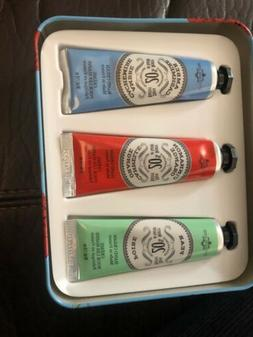 La Chatelaine 20% Shea Butter Hand Cream Tin Gift Set,