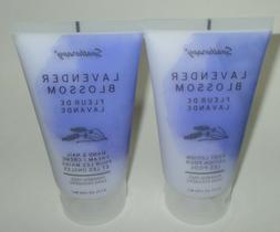 Spatherapy LAVENDER BLOSSOM Foot Lotion & Hand/Nail Cream Se