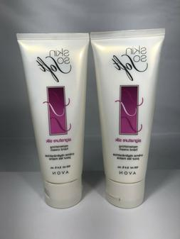 Lot of 2 Avon Skin So Soft Signature Silk Replenishing Hand