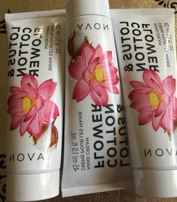 AVON LOTUS & COTTON FLOWER HAND CREAM  TRAVEL SIZE 1.5 FL OZ