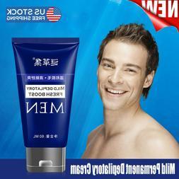 man s permanent body depilatory cream painless
