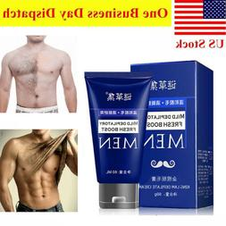 Man's Permanent Body Hair Removal Cream Hand Arms Legs Loss