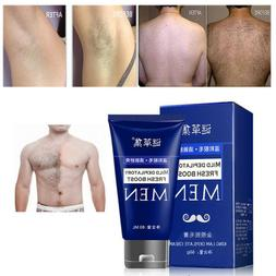 Man's Permanent Body Hair Removal Cream Hand Leg Hair Loss D