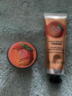 The Body Shop Mango Soft Hand Cream & Lip Butter Duo Set New