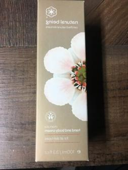 Natural Being Manuka Hand and Body Cream All Skin Types 100