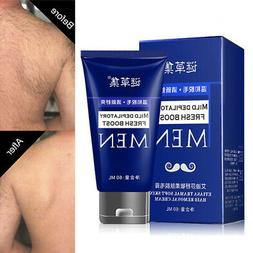 Men Loss Hair Removal Cream Effective Hand Leg Body Quickly