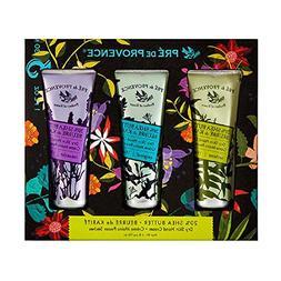 Pre de Provence Floral Meadow Hand Cream Gift Box, Set of 3,