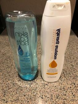 AVON Moisture Therapy Hand Cream Intensive 13.5 oz & Body Wa