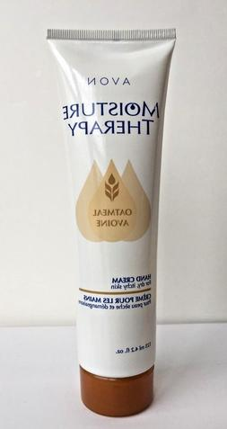 ~Avon~Moisture Therapy Oatmeal Hand Cream~For Dry Itch Skin~