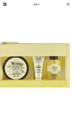 The Body Shop MORINGA Collection 3 Pc  Set Hand Cream Shower