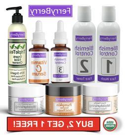 Natural & Organic Skin Care Products Moisturizer Serum Cream