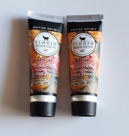 Dionis Natural Goat Milk Hand Cream Moisturizer FROSTED GING