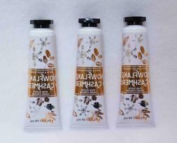 *NEW* 2-Pack SNOWFLAKES & CASHMERE Hand Cream ~1 oz~ Bath &