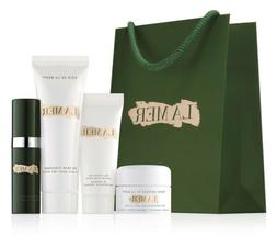 NEW 4PC LA MER GIFT SET GREAT FOR TRAVEL IN GIFT BAG