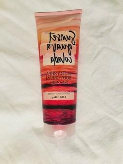New Bath & Body Works Sunset Guava Colada Ultra Shea Body Cr