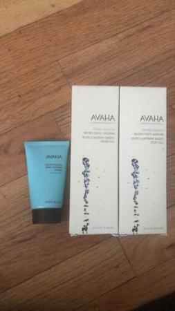 New Ahava Hand & Foot Cream Bundle Deadsea Mineral Lotions