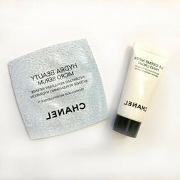 New! CHANEL Hand Cream 5ml sample & Serum 0.75 sample