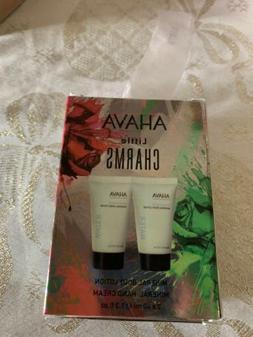 NIB AHAVA Body Lotion and Hand Cream Duo Holiday Set