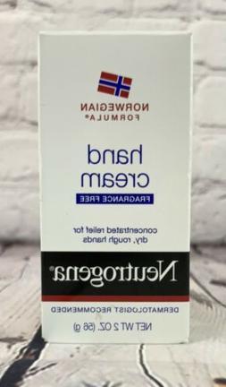Neutrogena Norwegian Formula Hand Cream, Fragrance Free, 2 o