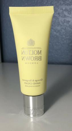 Molton Brown ORANGE & BERGAMOT Replenishing Hand Cream 1.4oz