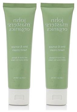 John Masters Organics Lime and Spruce Hand Cream  With Aloe
