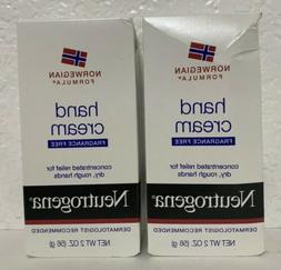 Pack of 2 - Neutrogena Hand Cream Norwegian Formula Fragranc