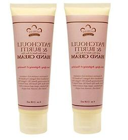 Nubian Patchouli and Buriti Hand Cream  With Shea Butter and
