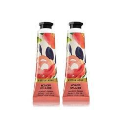 Bath and Body Works 2 Pack Peach Bellini Shea Butter Hand Cr