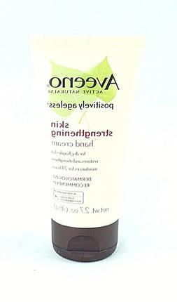 Aveeno Positively Ageless Skin Strengthening Hand Cream 2.7o