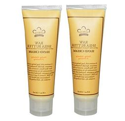 Nubian Raw Shea Butter Hand Cream  With Soy Milk and Cocoa S
