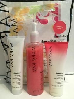 Mary Kay Satin Hands Cream Set Peach/Honeydew/FragranceFree/