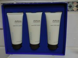 AHAVA Sea Soft Body Trio Set Hand /Foot Cream And Body Lotio