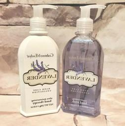 Set/2 Crabtree & Evelyn LAVENDER Hand Wash Soap & Hand Thera